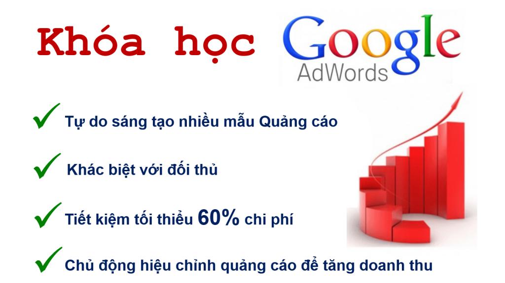 Khoa hoc quang cao Google Adwords tai binh duong