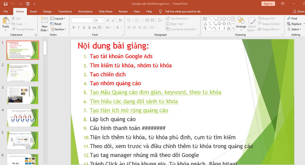 google ads BinhDUongmicro
